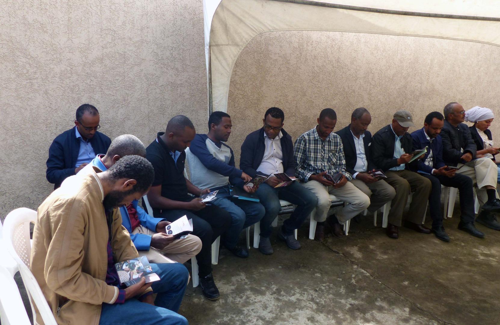 Accueil des participants